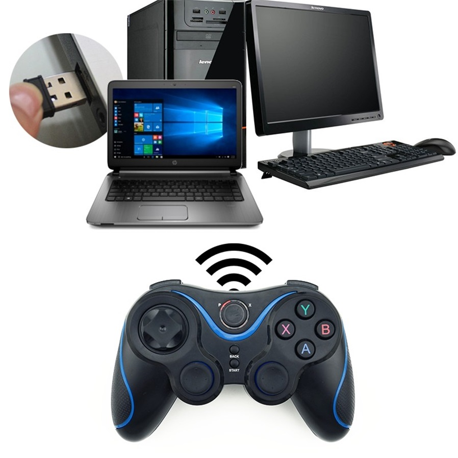 how to connect gamepad to android without otg