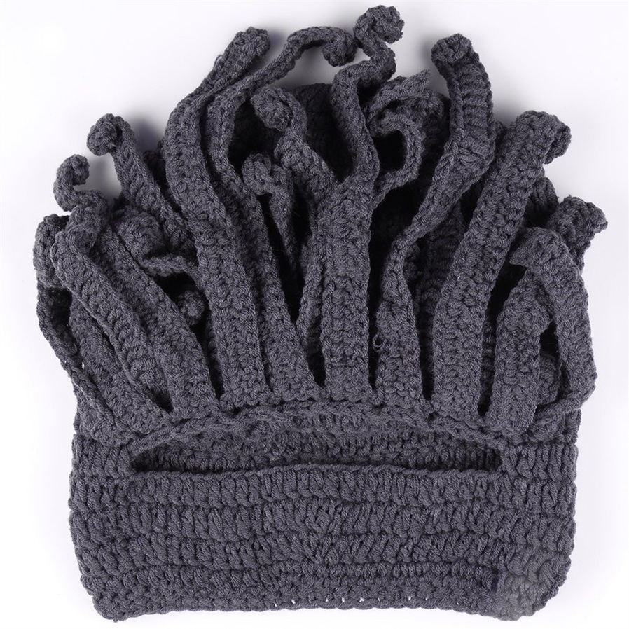 To Son\'s Gift Funny Tentacle Octopus Cthulhu Knit Beanie Hat Cap ...