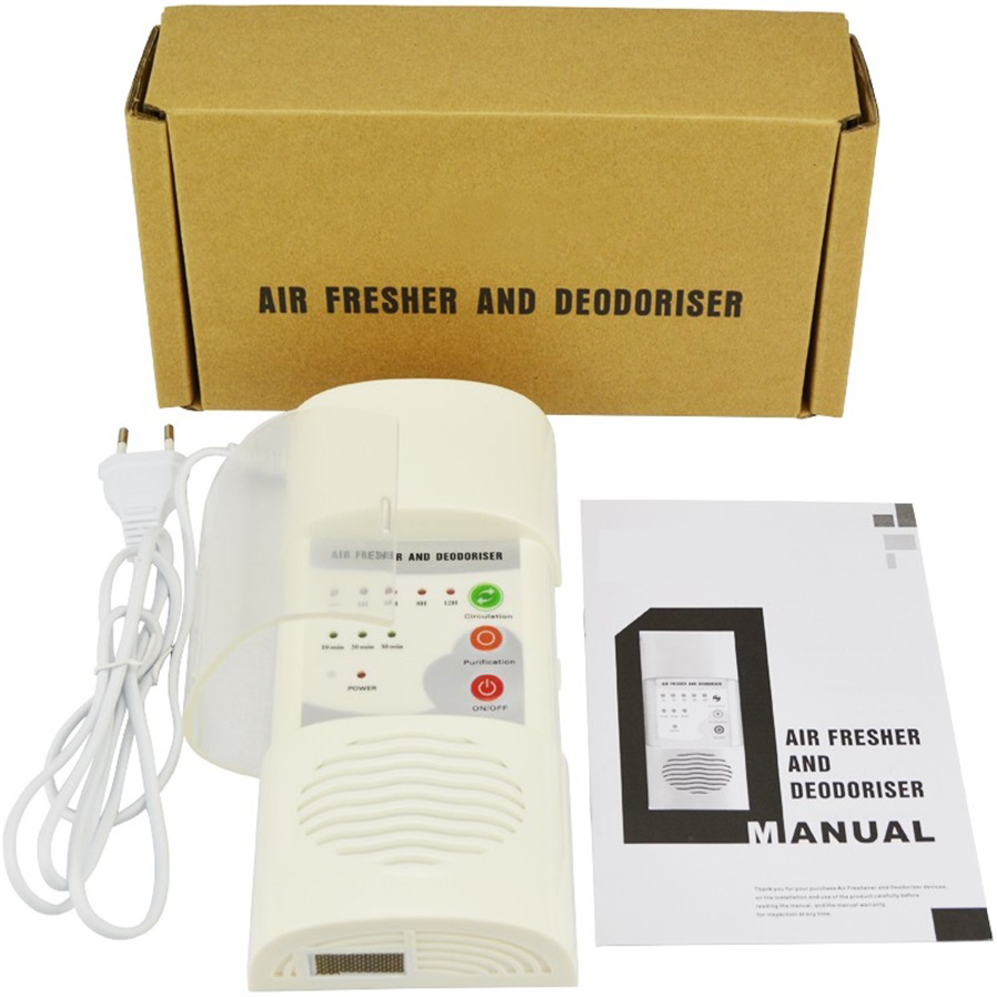 Air Ozonizer Purifier Home Deodorizer Ozone Ionizer Generator 3g H 220v Tube Circuit Board And Water General