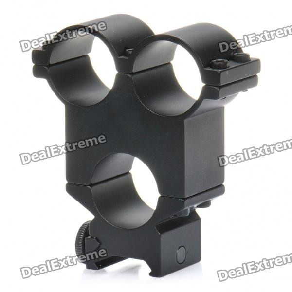 24mm, ThreeHole, Flashlight, Sight, Gun, Mount, Black, Airsoft, Guns, Supplies, Free, Shipping