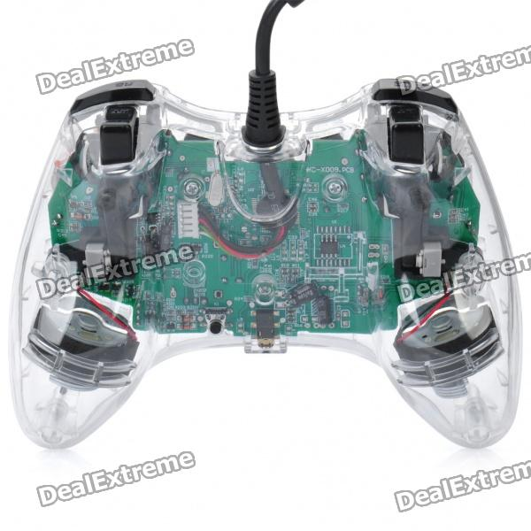 Transparent Wired Controller for XBOX 360