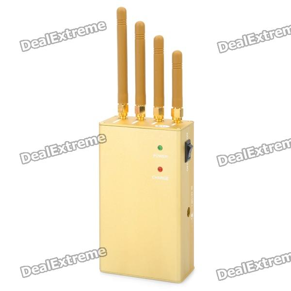 Signal blocker jammer yellow - dealextreme signal blocker for house