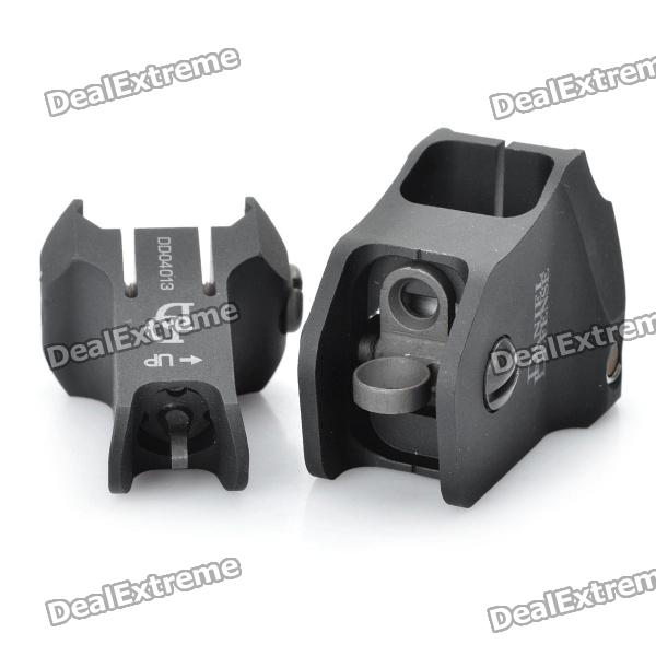 Tactical, Quick, Release, Sight, for, AR15, M16, Black, Airsoft, Guns, Supplies, Free, Shipping