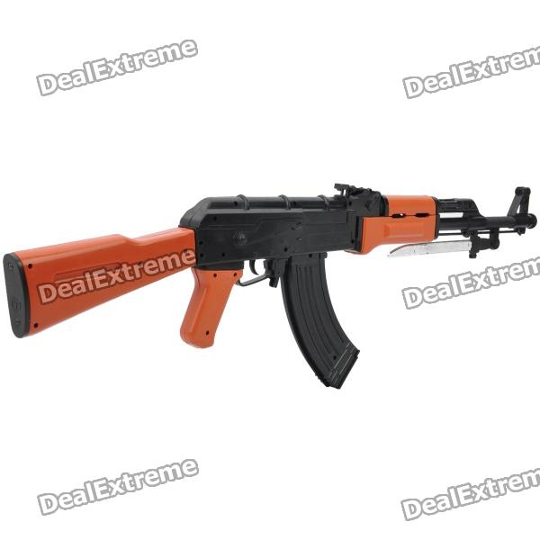 Cool, AK47, Simulation, Toy, Gun, with, BB, Bullets, Black, Brown, BB, Guns, Accessories, Free, Shipping