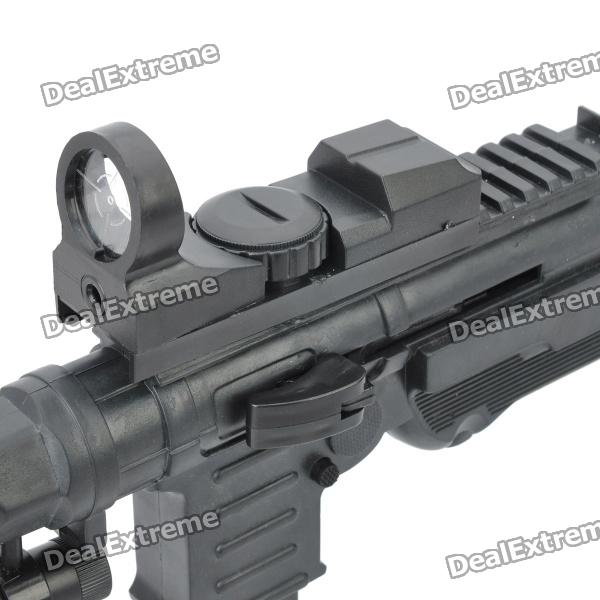 P40, 6mm, BB, Gun, Toy, with, Laser, Sight, and, Blue, Light, Flashlight, Black, BB, Guns, Accessories, Free, Shipping