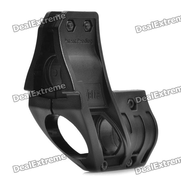 Plastic, Flashlight, Mount, Holder, for, Airsoft, M4, AK47, Black, 25430mm, Diameter, Airsoft, Guns, Supplies, Free, Shipping