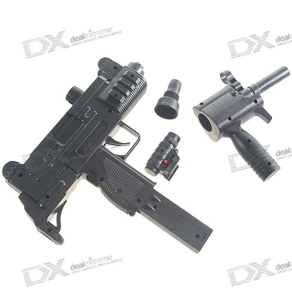 DIY, Assembled, Plastic, 6mm, Caliber, BB, Gun, Toy, with, Laser, Sight, BB, Guns, Accessories, Free, Shipping