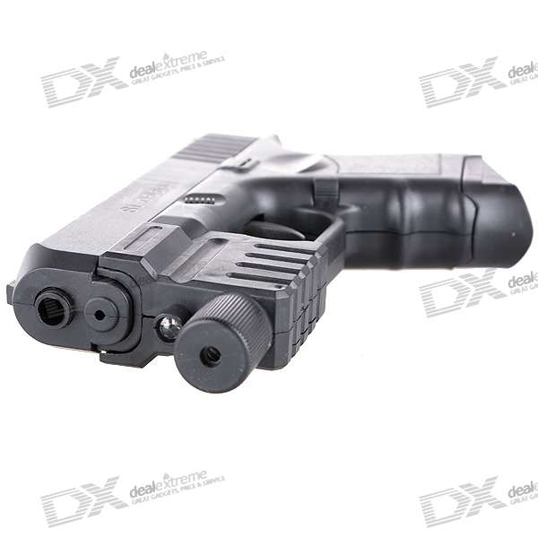 6mm, Pistol, BB, Gun, Toy, with, Laser, Sight, and, Blue, Light, Flashlight, BB, Guns, Accessories, Free, Shipping