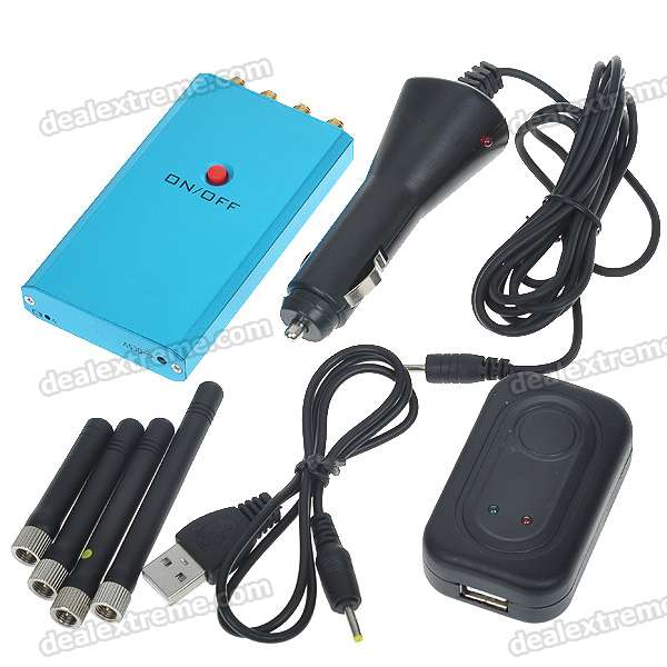 Q40, Mini, Portable, Cell, Phone, Signal, Jammer, CDMAGSMDCSPHSWCDMACDMA2000GPS, L1, Signal, Blockers, Free, Shipping