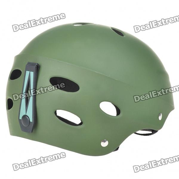 Safety, PVC, Paratrooper, Helmet, Army, Green, Airsoft, Game, Accessories, Free, Shipping