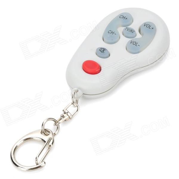 Mini, Universal, TV, Remote, Controller, Keychain, 1, x, CR2032, Remote, Controllers, Free, Shipping