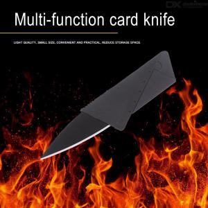 Creative Card Style Folding Knife Mini Portable Outdoor Camping Picnic Stainless Steel Pocket Knife Tool