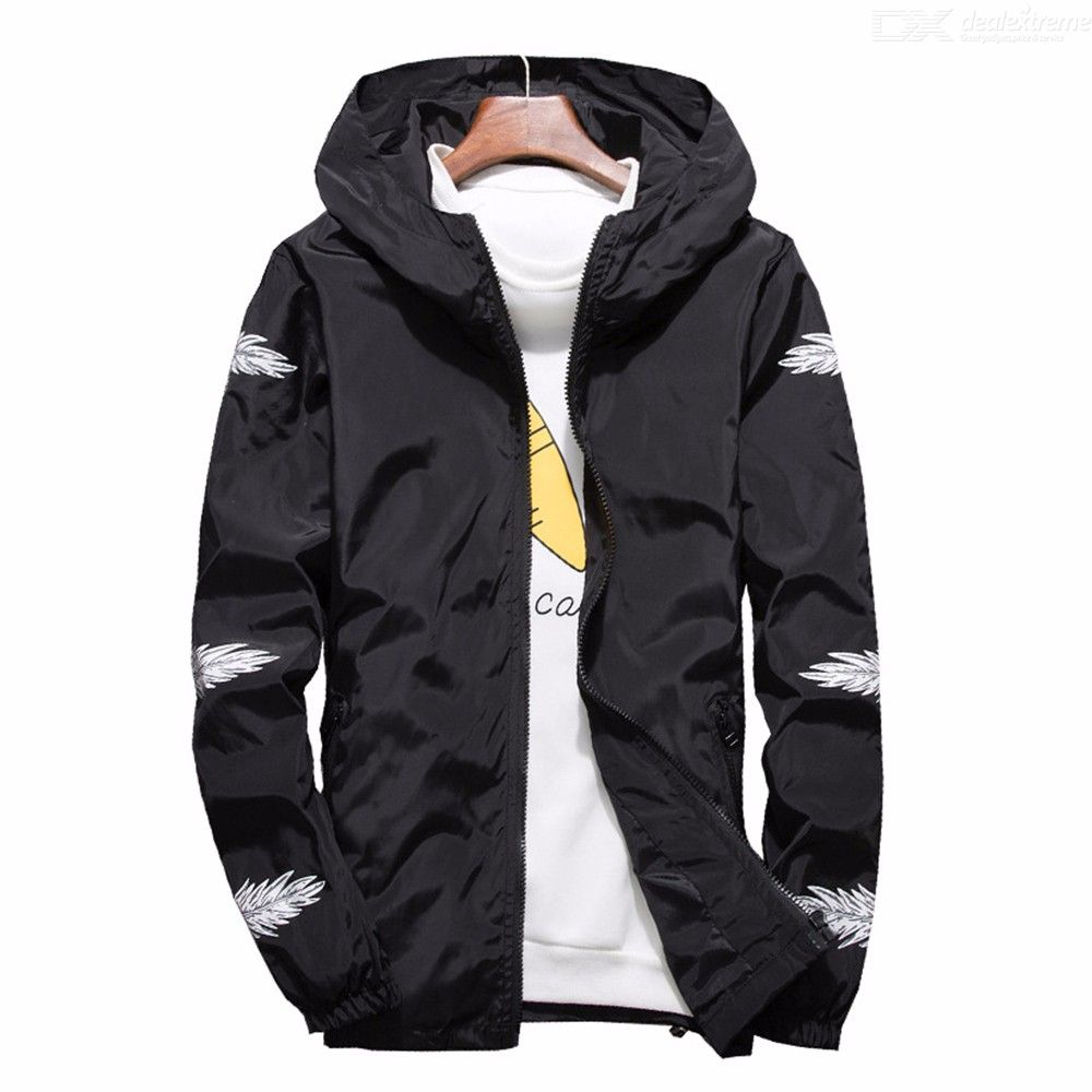 56c76085f New Autumn Men Thin Jackets Casual Large Size Loose Windbreaker ...