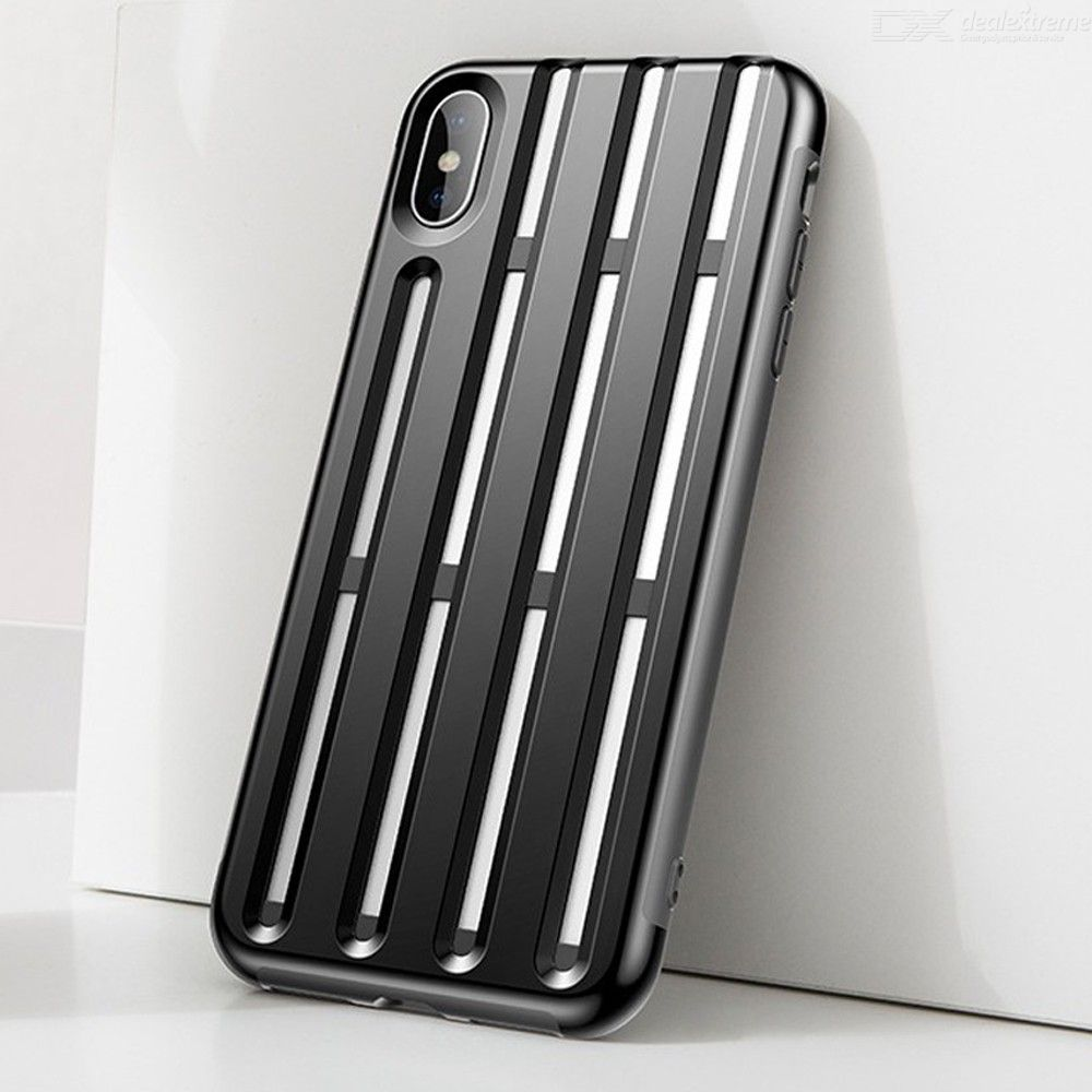 Baseus Mobile Phone Case Helmet PC + TPU Protect Dirt-resistant Fitted Cases  For IPhone 385916d3209
