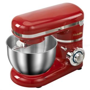 1200W 4L Stainless Steel Bowl 6-speed Kitchen Food Stand Mixers Cream Egg Whisk Blender Cake Dough Bread Maker Machine