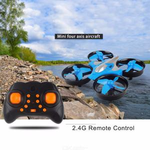 Mini Drone 4-axis Aircraft Crash Resistant Quadcopter Pocket Toy One-key Return