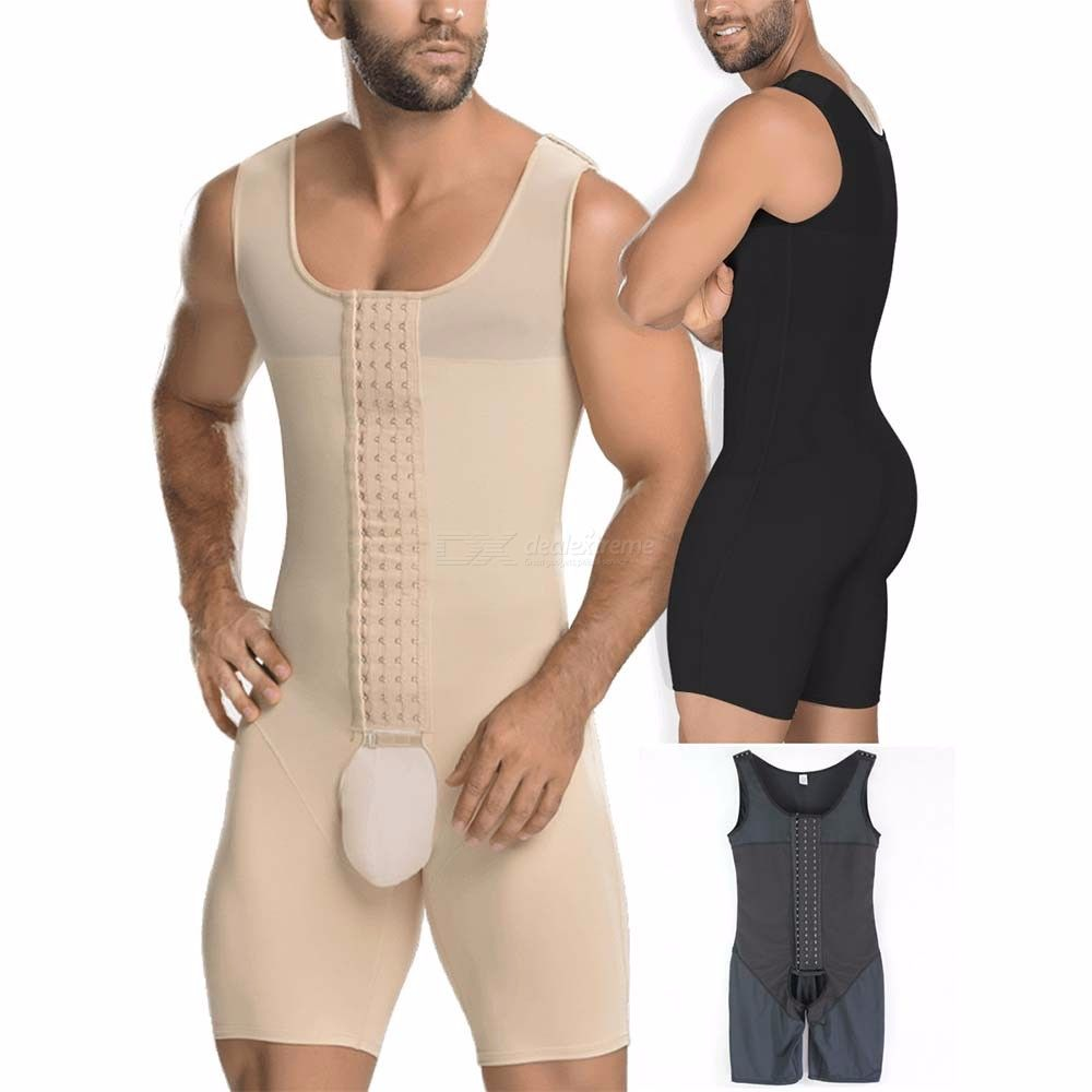 b0f4a664088 Mens High Compression Bodysuit Firm Control Body Shapers - Free shipping -  DealExtreme