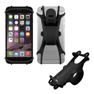 Soft Bike Phone Mount Shake-proof Silicone Cellphone Holder For Bicycle