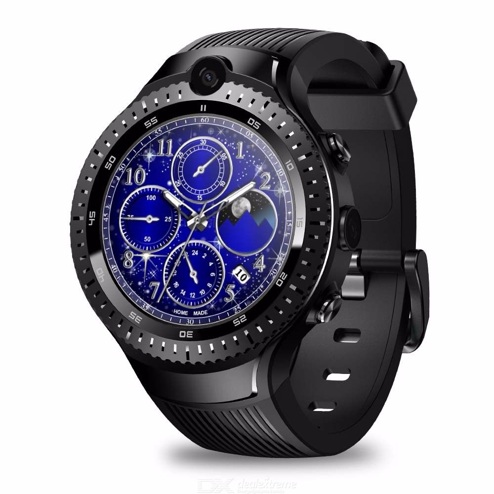 Zeblaze THOR 4 Dual 4G Smartwatch 5.0MP+5.0MP Dual Camera Android 1.4quot AOMLED Display GPS/GLONASS Watch For Men