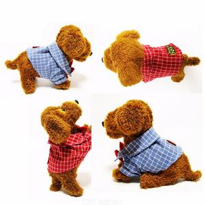 Action Figure Electronic Pets Robot Dog Bark Stand Walk Teddy Plush Toys For Kids