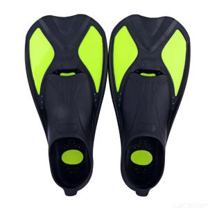 Swimming Diving Fins Snorkeling Foot Flippers Swimming Equipment Portable Dive Shoes - Green