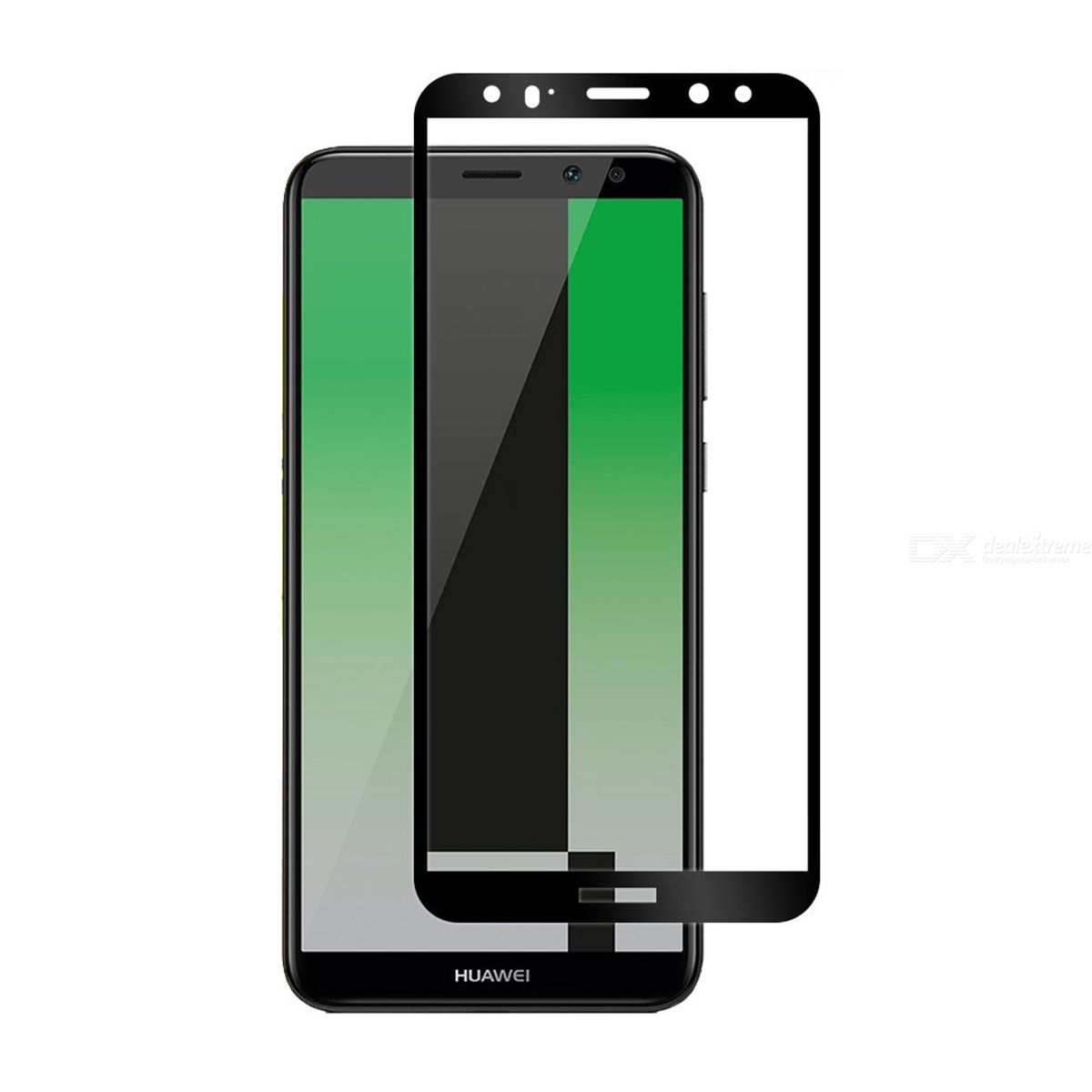 f6eceedf8590ff Naxtop Full Screen Protector Tempered Glass for Huawei Mate 10 Lite - Free  shipping - DealExtreme