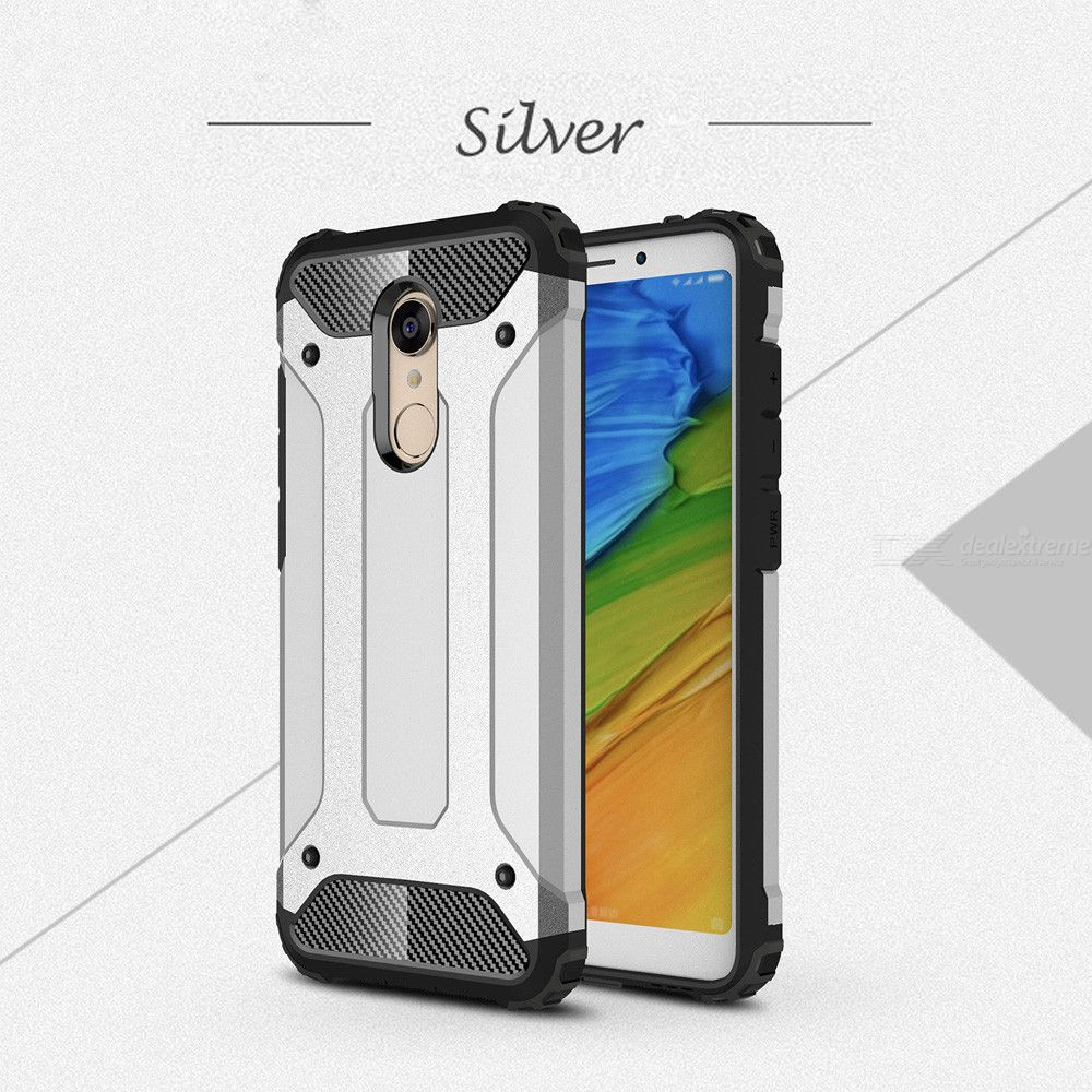 Dayspirit King Kong Armor Style Shockproof Anti-Scratch Protective TPU+PC Back Cover Case for Xiaomi Redmi Note 5/Redmi 5 Plus - Free shipping - DealExtreme