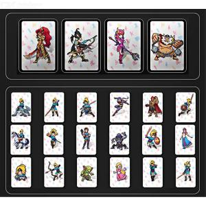 22pcs NFC215 Printed NFC Card Breath Of The Wild Game Card Legend Of Zelda Amiibo Work For Switch Latest Data Full Set
