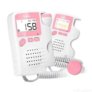 2.0MHz Fetal Doppler Radiation-free Prenatal Heartbeat Monitor With 4.5cm LCD Screen