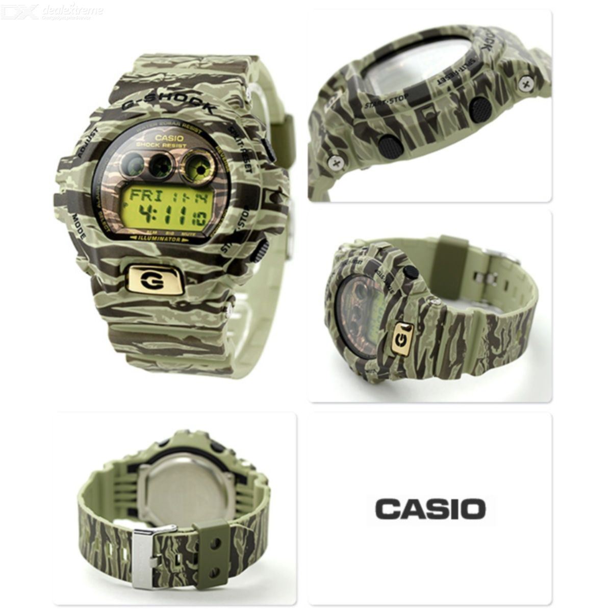 88d3d6b63c1 Casio G-Shock GD-X6900TC-5DR Camouflage series Mens Watch - Green ...