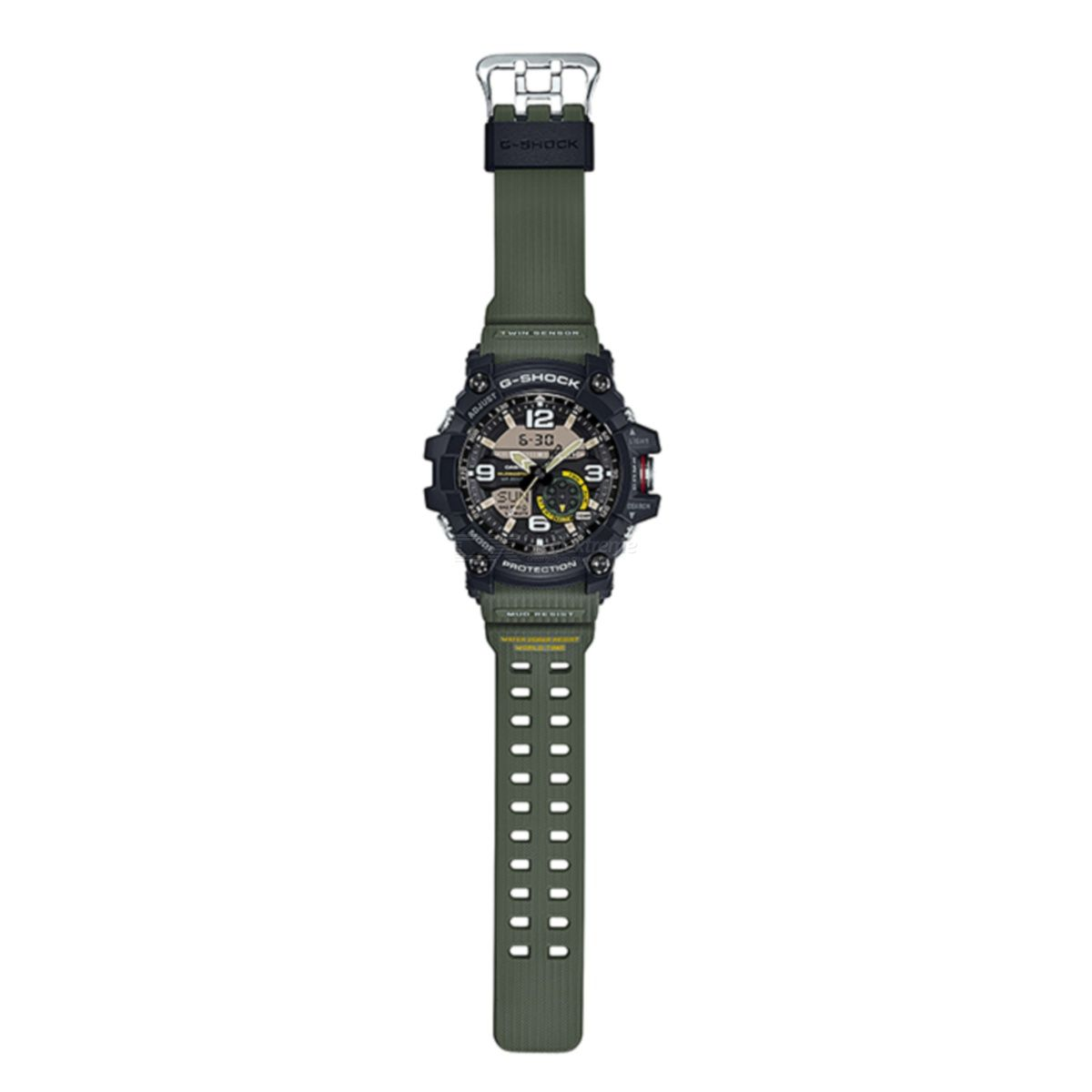 bdf1690ea Casio G-Shock GG-1000-1A3 Mudmaster Mens Watch - Green And Black - Free  shipping - DealExtreme
