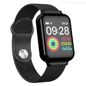 Color Screen Smart Bracelet Blood Pressure Heart Rate Monitoring Wristband Bluetooth Sports Watch