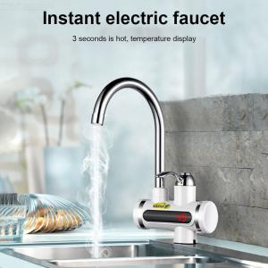Electric Water Heater Tankless Kitchen Instant Hot Water Tap Heater Water Faucet Heating Tap