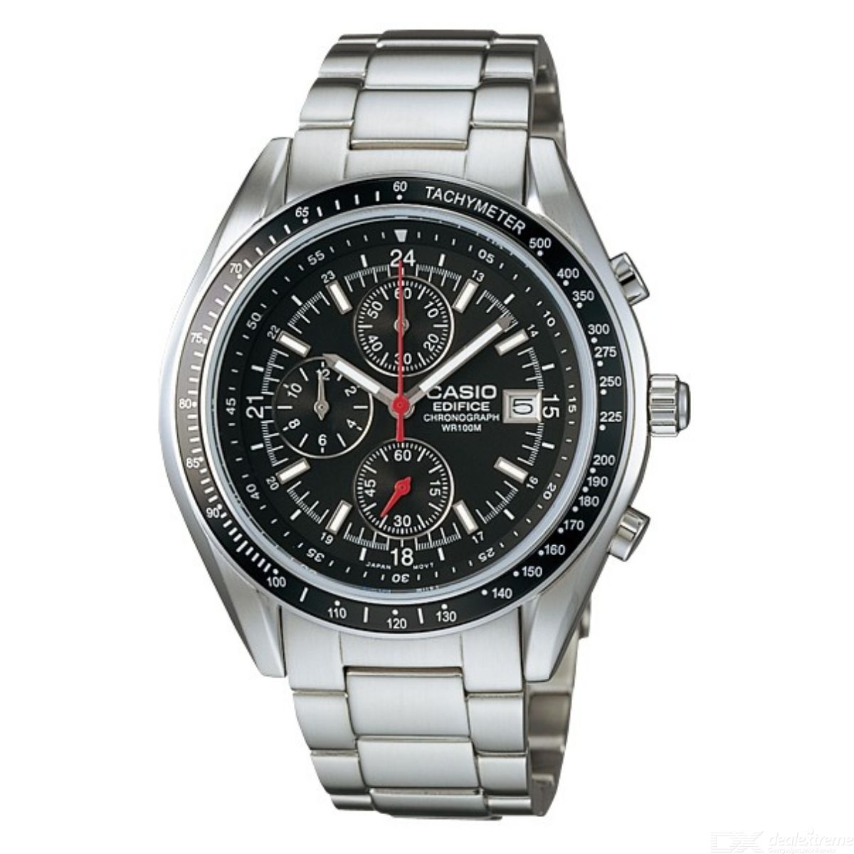 Casio Edifice EF-503D-1AV Watch - Silver + Black (Without Box ... 46b8f881584