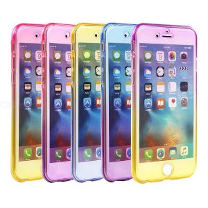 Gradient Phone Case Stylish TPU Mobile Cover For IPHONE