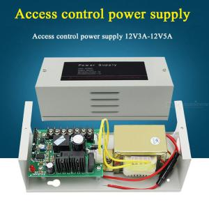 12V Power Supply Converter AC110- 220V To DC 12V For Access Control Board