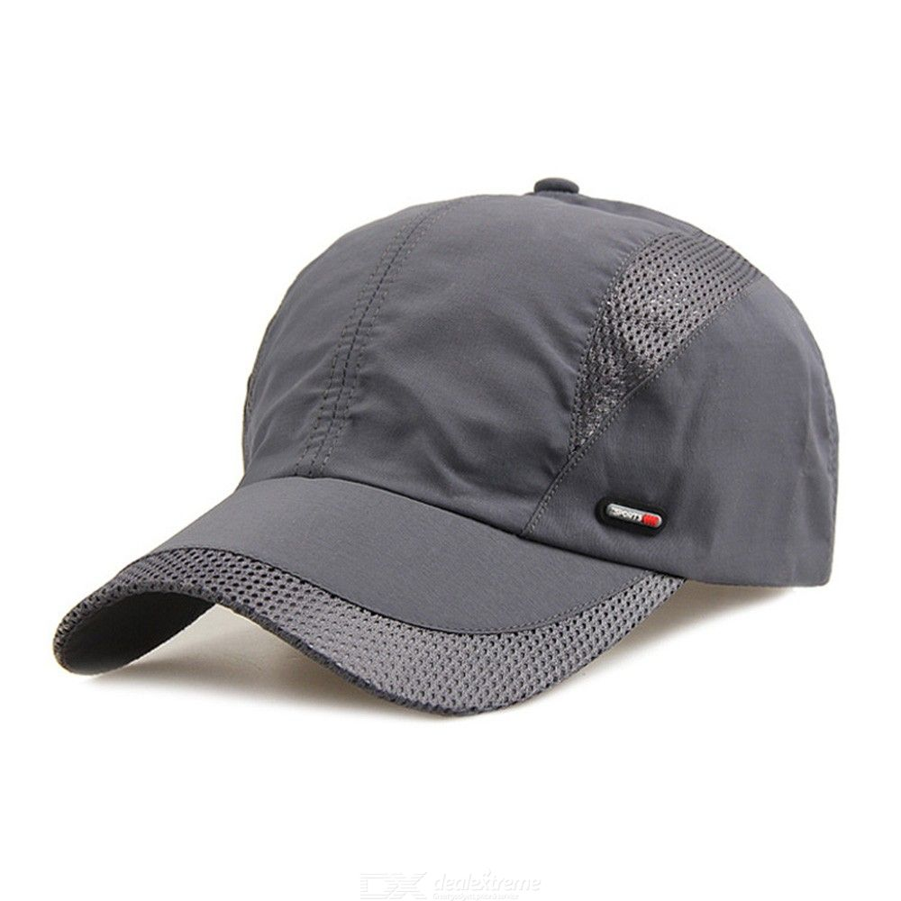0cc6c8be30e7a Mens Breathable Cap Outdoor Quickdry Visor Baseball Hat - Free shipping -  DealExtreme