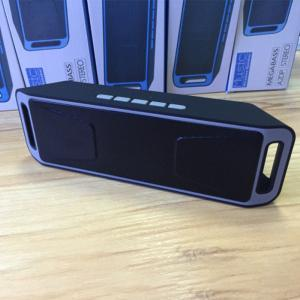 Car Bluetooth Speaker With Deep Bass Sound Dual Speakers TF Slot