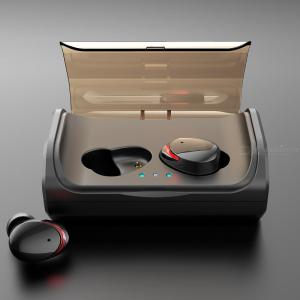T8 TWS Bluetooth 5.0 Earbuds True Wireless Bluetooth Earphones With 90 Hours Playback Time W3000mAh Charging Case