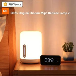 Xiaomi Mijia Bedside Lamp 2 Smart Light Voice Control Touch Switch Mi Home App LED Bulb for Apple Homekit Siri
