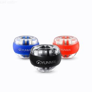 Original Xiaomi Yunmai Anti-stress Wrist Trainer LED Gyroball Essential Spinner Gyroscopic Forearm Exerciser Gyro Ball