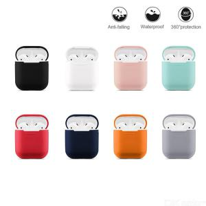 Soft Silicone AirPods Case Protective Ultra Thin Cover Shockproof  Pouch For Apple AirPods Earphone