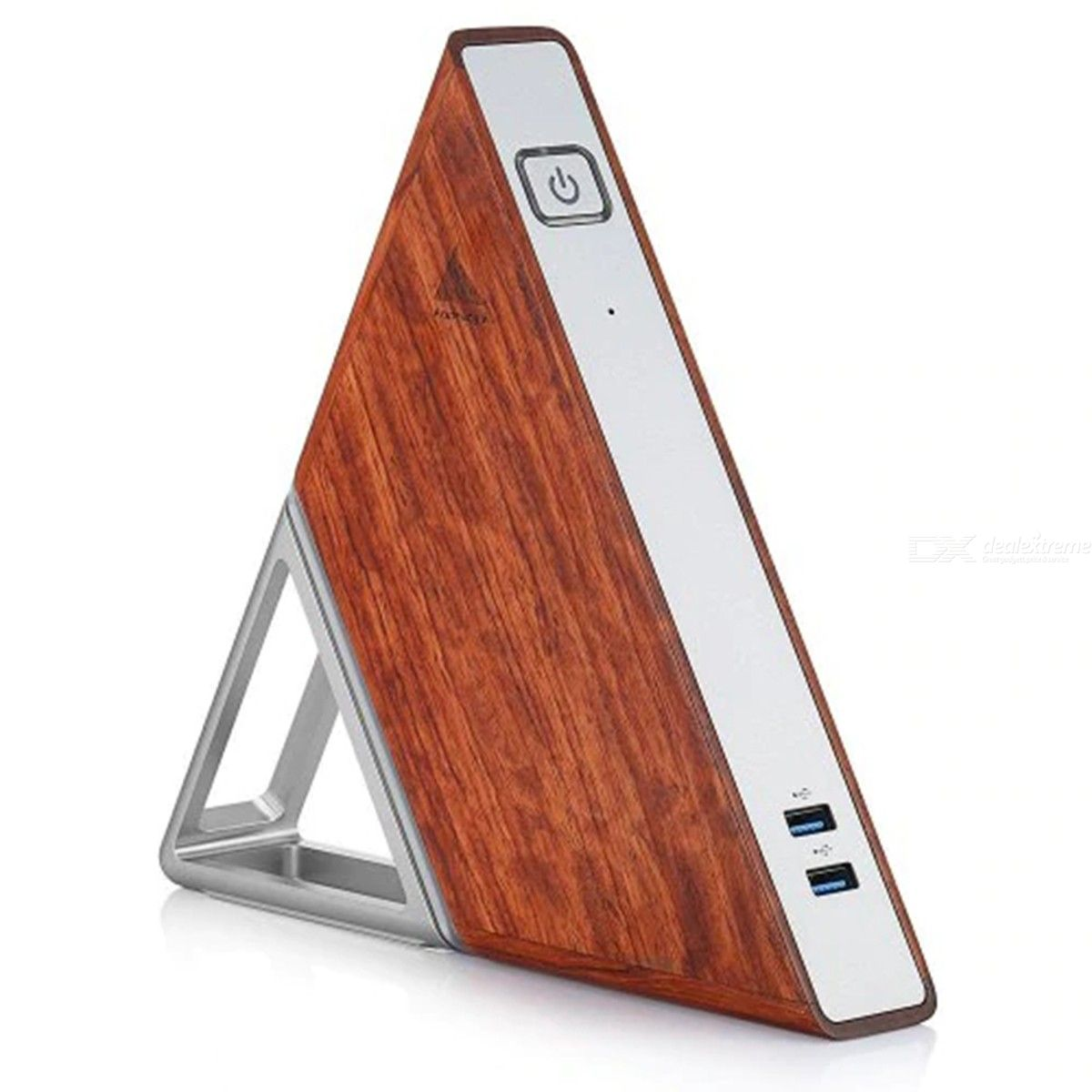 Acute Angle AA - B4 Mini PC - Multi-A 8GB RAM+64GB EMMC 128GB SSD Dual Band WiFi 1000Mbps 3 USB Port - US Plug