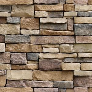 Creative Wall Sticker 3D Wall Paper Brick Stone Rustic Effect  Self-adhesive Wall Sticker For Home Decoration(45100cm)