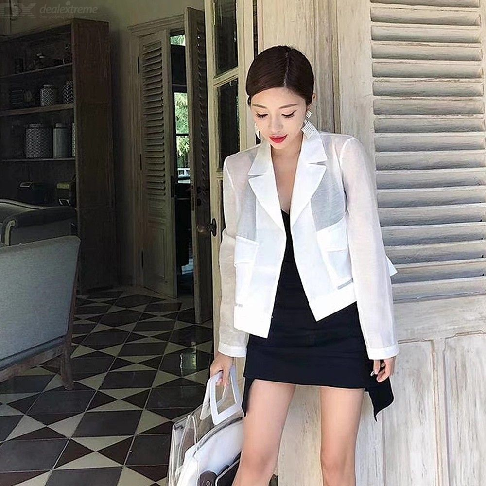 8412c01330 Womens Summer Outfit Stylish Camisole Top + Asymmetric Skirt + Sun  Protective Cardigan