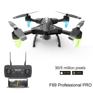 F69 6-Axis Quadcopter Drone 4K Camera 1800mAh Lipo Battery Altitude Hold Foldable Arms
