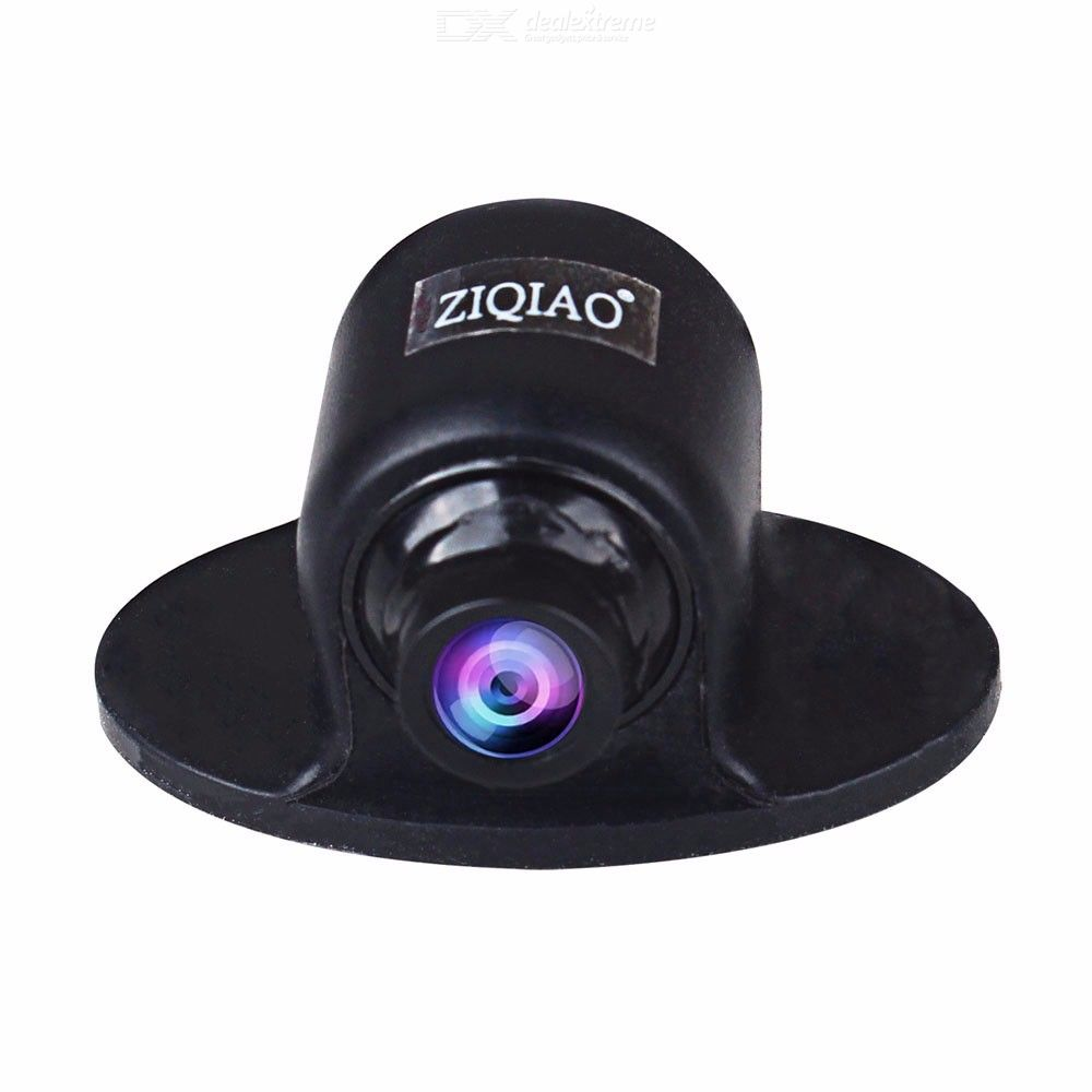 Ziqiao zhs-019 mini 360 degree rotation hd ccd parking assistance camera front  side  rear view cameras for car dvd monitor