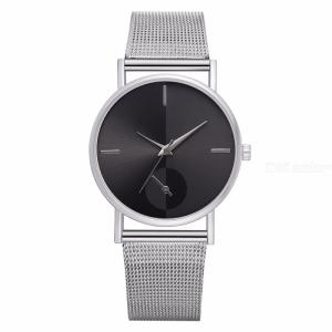 Womens Simple Watch Casual Stainless Steel Wrist Watch