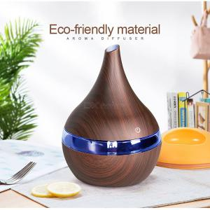 300ML USB Electric Aroma Air Diffuser Wood Ultrasonic Air Humidifier Essential Oil Aromatherapy Maker Sterilizer For Home