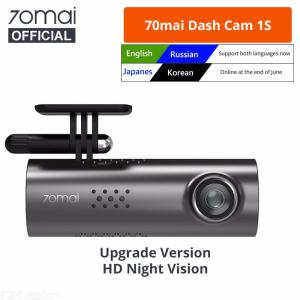 Original Xiaomi 70mai Smart Dash Cam 1S 70MAI 1S 1080P HD Night Vision G-sensor Small Size Car Recorder